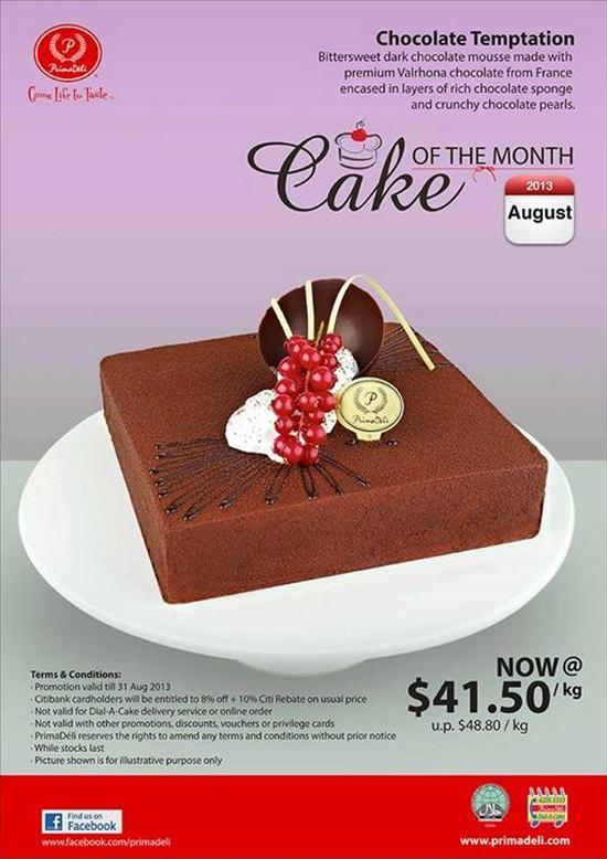 Prima Deli Chocolate Temptation Cake Promotion Mr Lobang