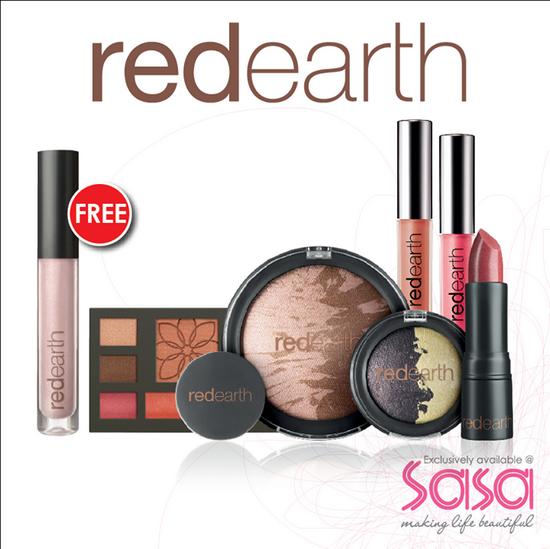 SaSa Free Red Earth Lip Lustre Deal