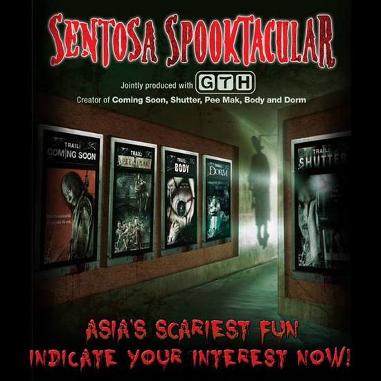 Sentosa Spooktacular Tickets Promotion